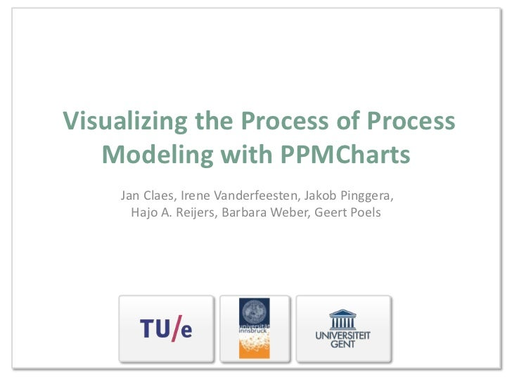 Visualizing the Process of Process   Modeling with PPMCharts     Jan Claes, Irene Vanderfeesten, Jakob Pinggera,       Haj...