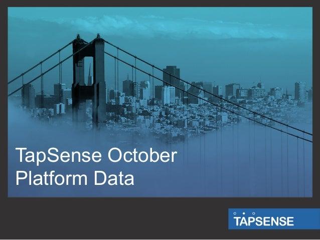 TapSense October Platform Data