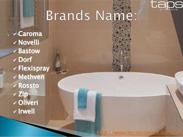 Latest Design Bathroom & Kitchen Tapware in Sydney