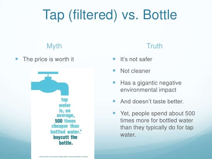 The major effects of bottled water on our environment