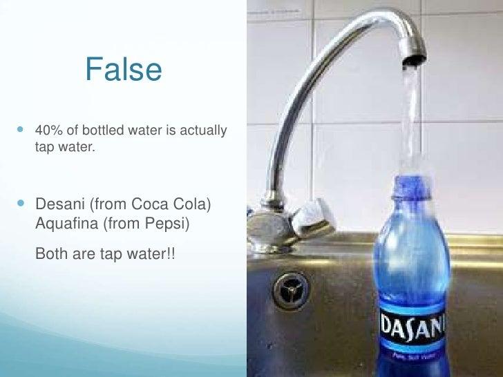 Bottle v tap