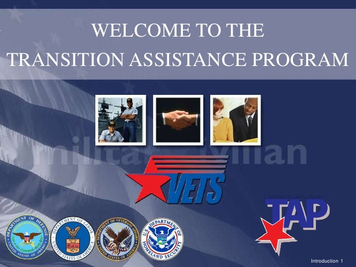 WELCOME TO THE<br />TRANSITION ASSISTANCE PROGRAM<br />Introduction1<br />FO&D<br />
