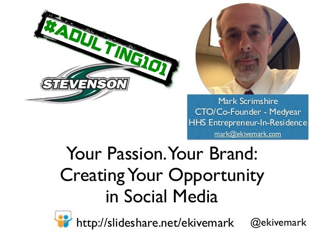 Tap Your Passion for Opportunity Slide 2