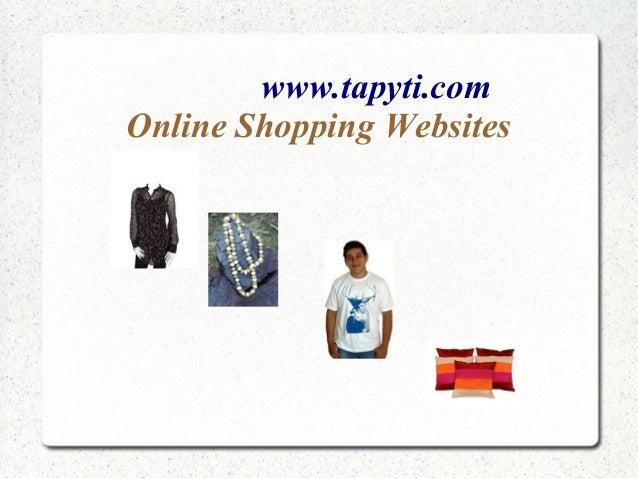 www.tapyti.comOnline Shopping Websites