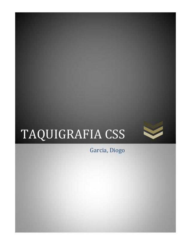 TAQUIGRAFIA CSS Garcia, Diogo