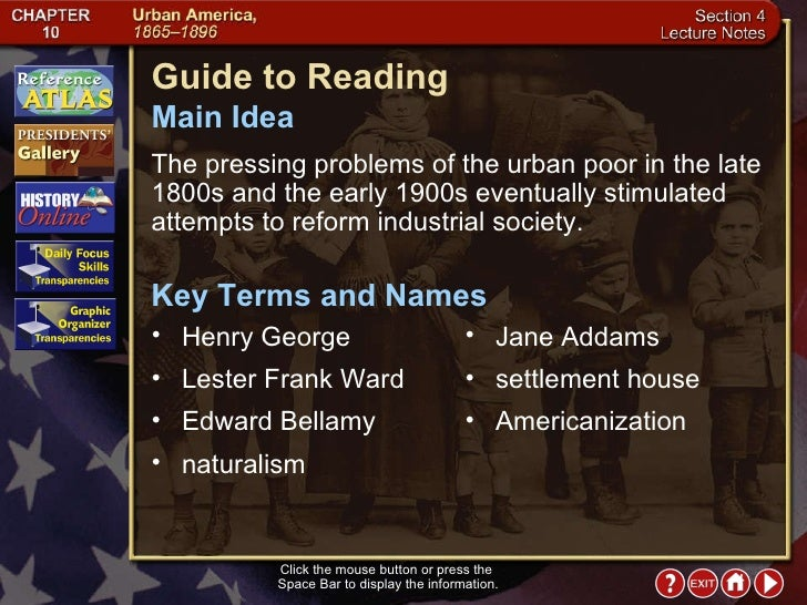 the ideal societies of edward bellamy jane addams essay Narrative history 202: united states history since 1865  edward bellamy,  i will ask you to tell me how jane addams is representative of that time period to do.