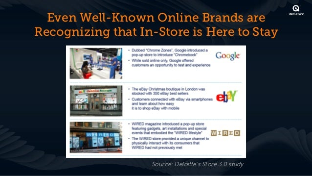 In-Store Best Practices! Bring the benefits of online into your store! Convenience is key   !  Make it easy for customers ...