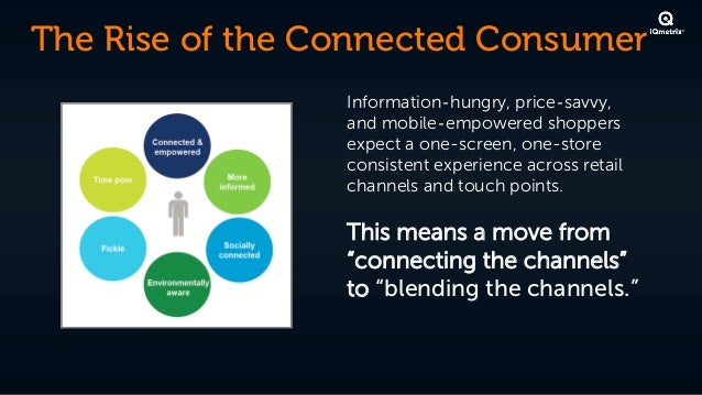 The Rise of the Connected Consumer                 Information‐hungry, price‐savvy,                 andmobile‐empowered s...