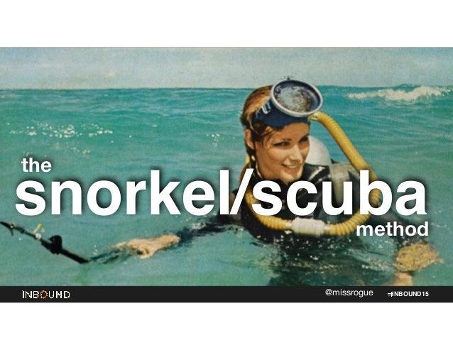 INBOUND15@missrogue snorkel/scuba the method