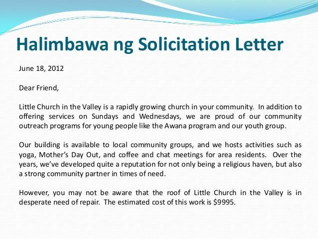 Tara ipon tayo 29 halimbawa ng solicitation letter thecheapjerseys Image collections