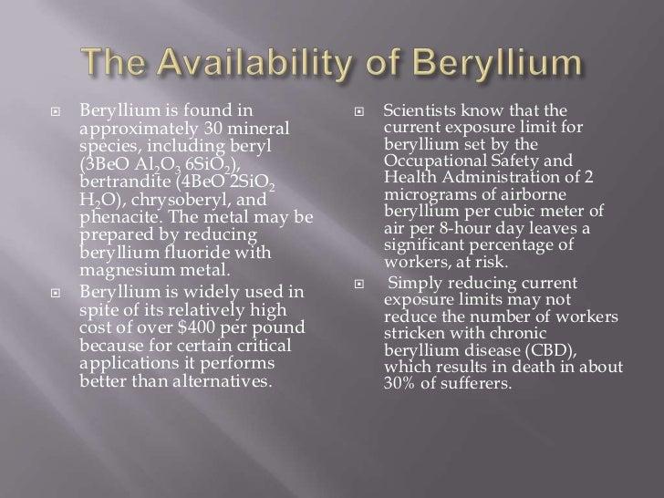 Beryllium Tara Lay