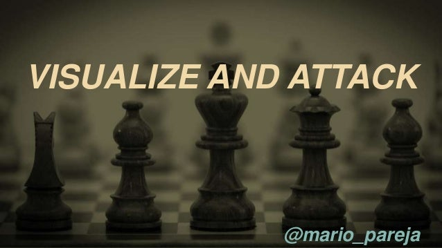 VISUALIZE AND ATTACK  @mario_pareja