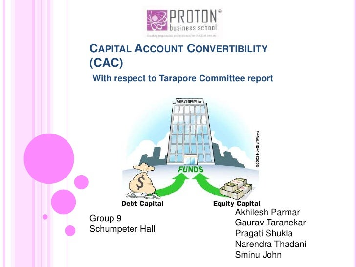 Capital Account Convertibility(CAC)<br />With respect to Tarapore Committee report<br />GauravTaranekar<br />09PR001012B06...