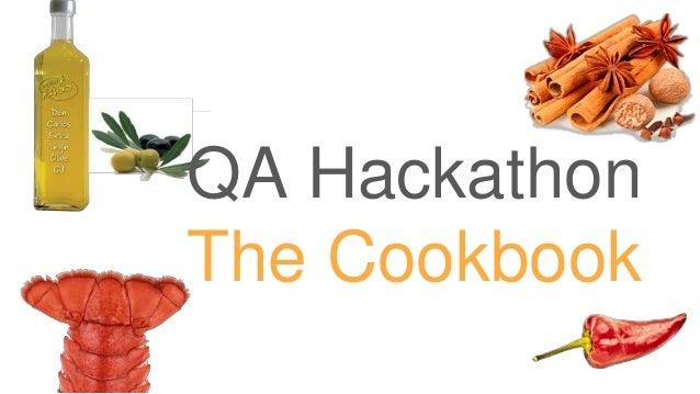 QA Fest 2019. Петр Тарасенко. QA Hackathon - The Cookbook 22 Slide 3