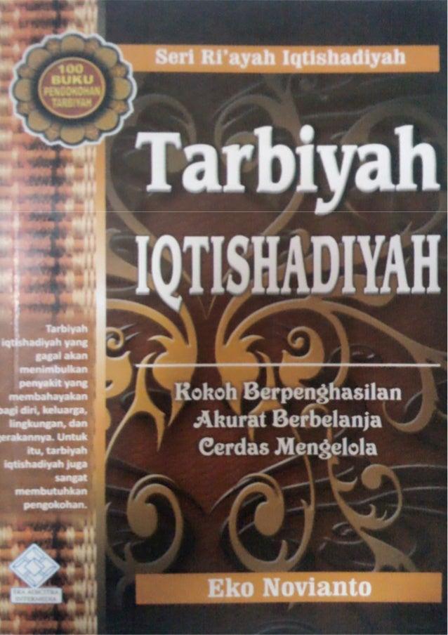 Intisari Buku Tarbiyah Iqtishadiyah Bersama Dakwah 1