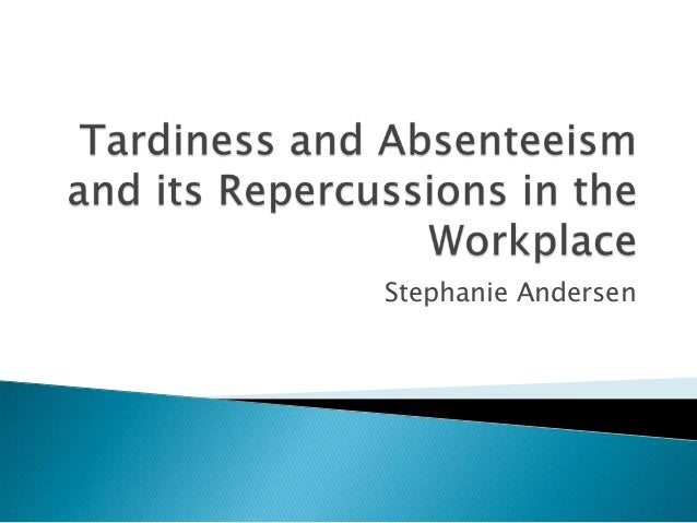 Curb Your Absenteeism With No-Fault Attendance Policies