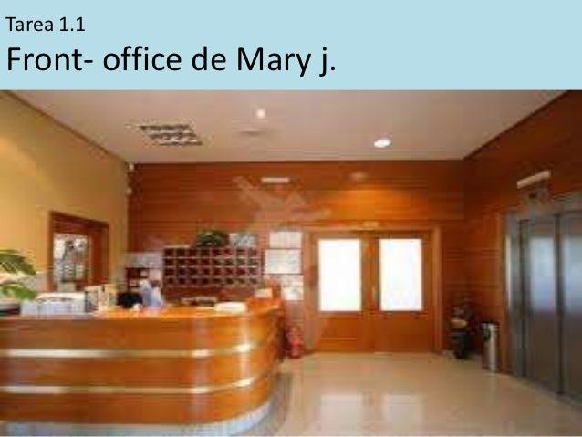 Tarea 1.1Front- office de Mary j.