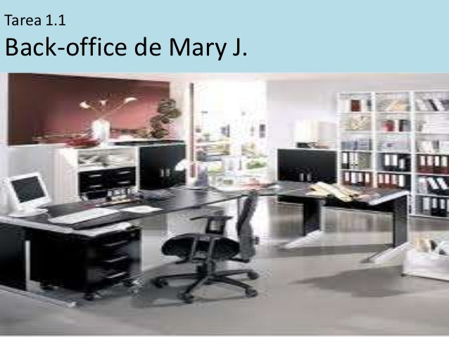 Tarea 1.1Back-office de Mary J.
