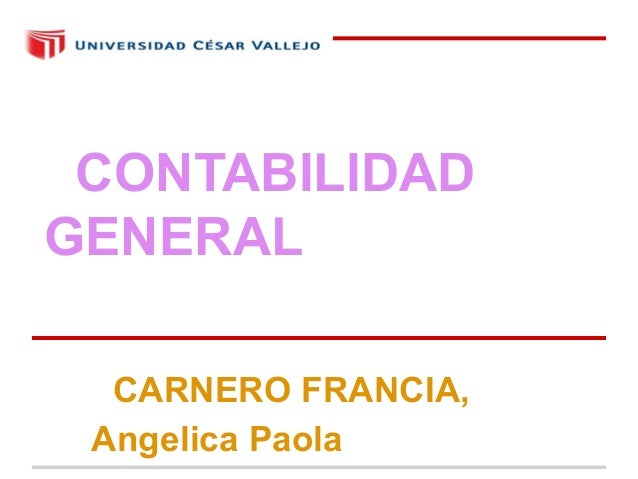 CONTABILIDADGENERAL  CARNERO FRANCIA, Angelica Paola