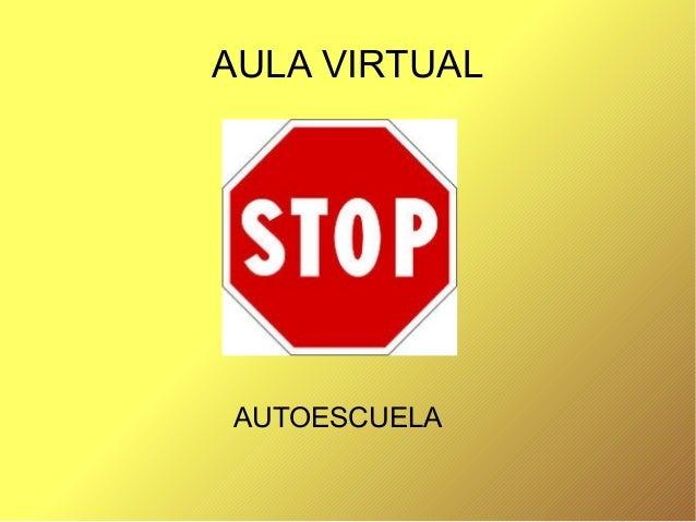 AULA VIRTUAL AUTOESCUELA