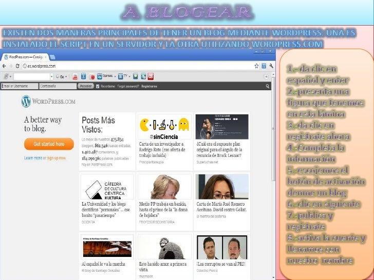 Las páginas se las debe utilizar cuando el contenido en lasmismas va a ser permanente en tu blog como por ejemplo tubiogra...