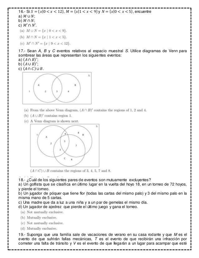 Tarea 1 ejercicios de probabilidad con respuestas 7 16 ccuart Gallery