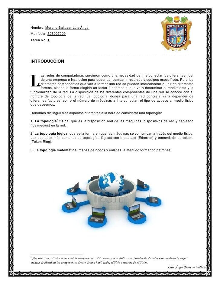 Nombre: Moreno Baltazar Luis Ángel Matrícula: S08007009 Tarea No. 1   ____________________________________________________...