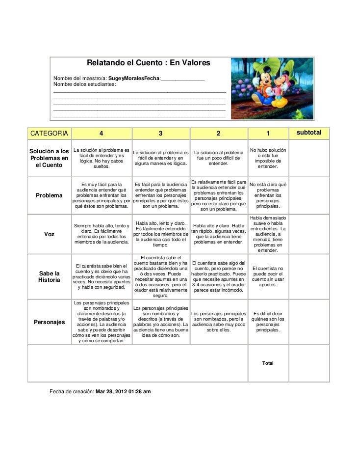 Tarea 2 relatando cuentos en valores Slide 2