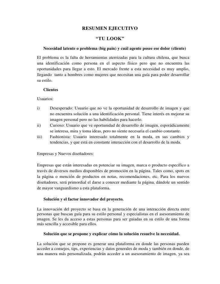 Encantador Resume Ejecutivo Molde - Colección De Plantillas De ...