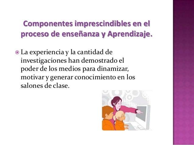  Elmedio utilizado en el aula y las tareas que se realicen, tendrán consecuencias como:   Forma de agrupar a los alumnos...