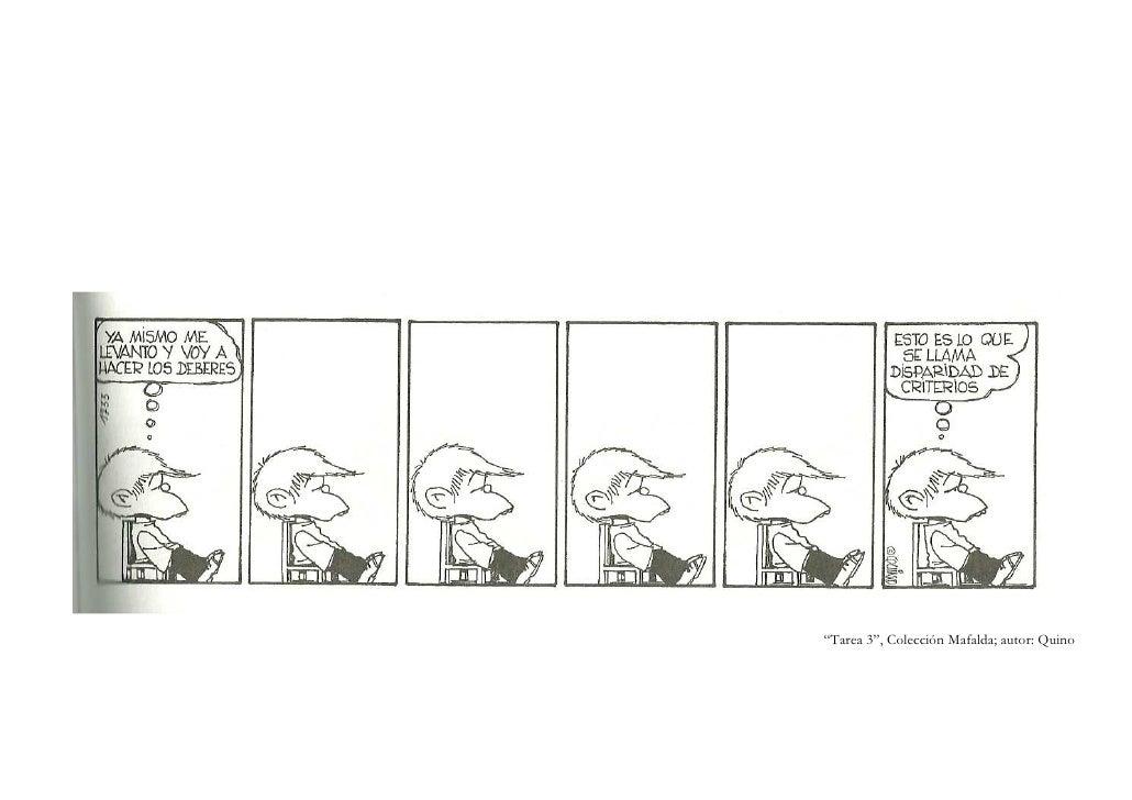 """""""Tarea 3"""", Colección Mafalda; autor: Quino"""