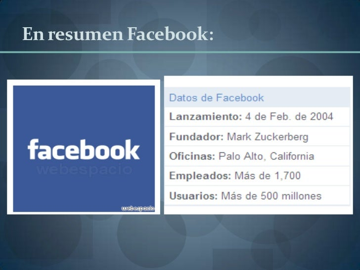 Tarea 3 investigación de facebook Slide 2