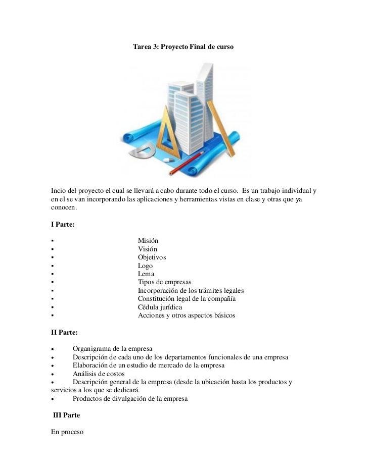 Tarea 3 proyecto final de curso for Proyecto de construccion de aulas de clases