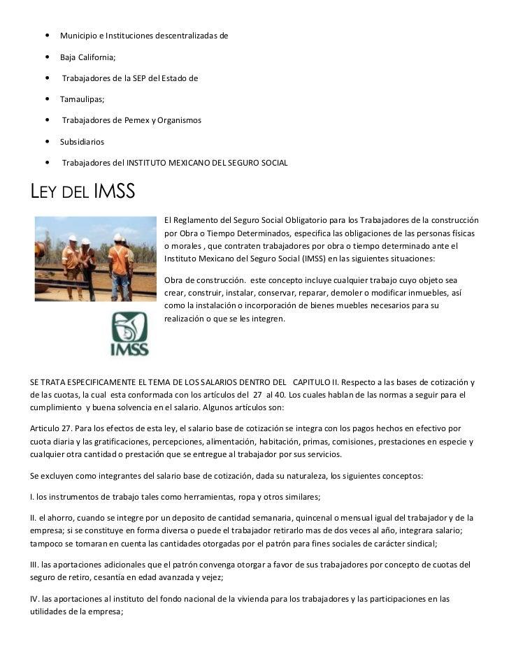    Municipio e Instituciones descentralizadas de       Baja California;        Trabajadores de la SEP del Estado de    ...