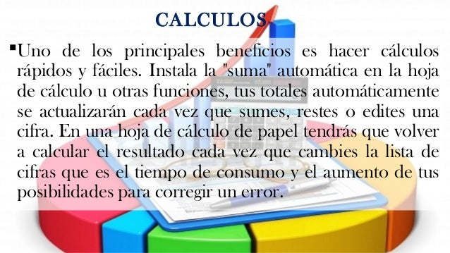 IMPORTANCIA DE LA HOJA DE CALCULO EN LA CONTABILIDAD (Tarea 5)