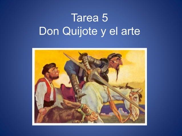 Tarea 5 Don Quijote y el arte