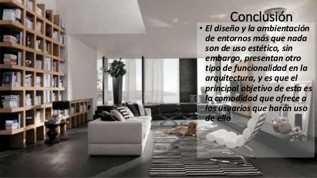 Diseño de interiores y ambientación en la arquitectura