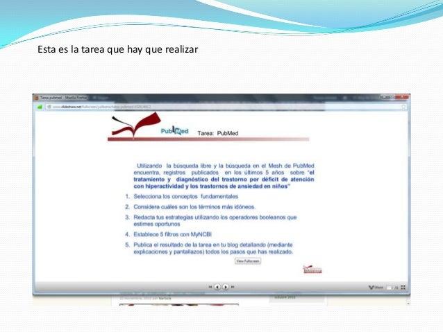 Tarea 5 de la asignatura competencias informacionales en Slide 2