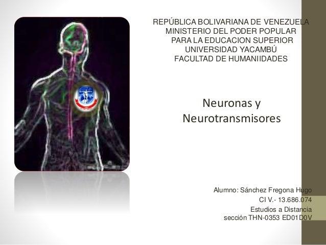 Alumno: Sánchez Fregona Hugo CI V.- 13.686.074 Estudios a Distancia sección THN-0353 ED01D0V REPÚBLICA BOLIVARIANA DE VENE...