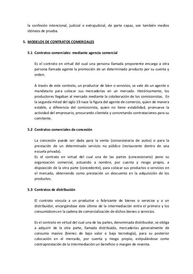 Tarea academica ii procesos de contratacion comercial y for Modelo acuerdo extrajudicial clausula suelo