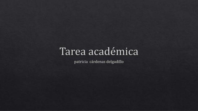 Tarea académica