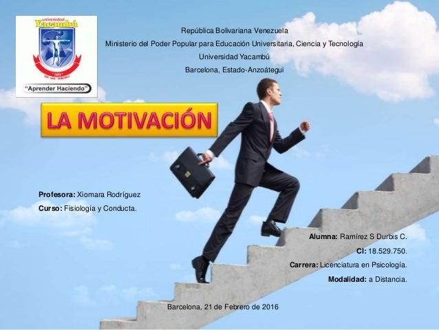 República Bolivariana Venezuela Ministerio del Poder Popular para Educación Universitaria, Ciencia y Tecnología Universida...