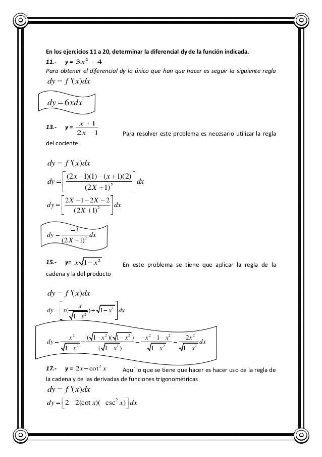Tarea de calculo ii
