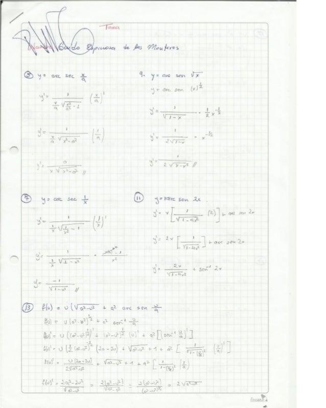 Tarea de funciones exponenciales y logaritmicas