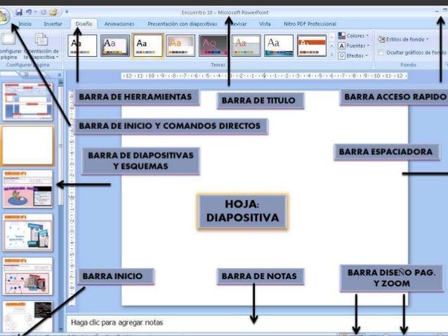 Barra de menús Contiene todas las operaciones que nos permite realizar  power point con nuestras presentaciones ,estas op...