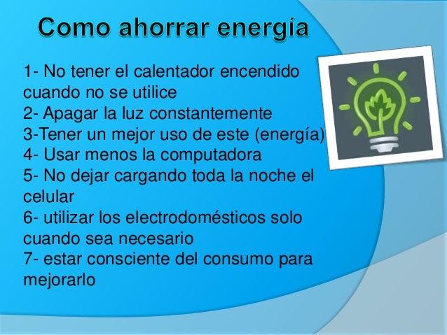Maneras de ahorrar agua energ a y como disminuir los residuos - Maneras de ahorrar energia ...