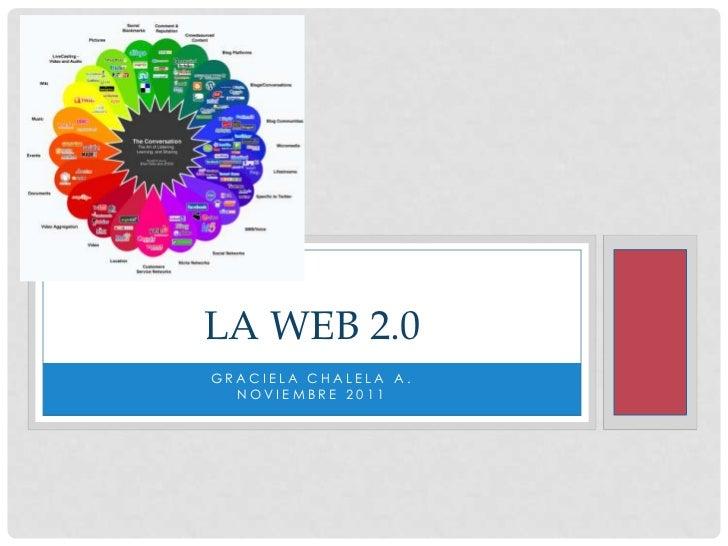 LA WEB 2.0GRACIELA CHALELA A.  NOVIEMBRE 2011