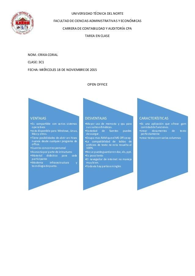 UNIVERSIDAD TÉCNICA DEL NORTE FACULTAD DE CIENCIAS ADMINISTRATIVAS Y ECONÓMICAS CARRERA DE CONTABILIDAD Y AUDITORÍA CPA TA...