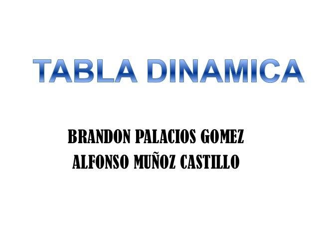 BRANDON PALACIOS GOMEZALFONSO MUÑOZ CASTILLO
