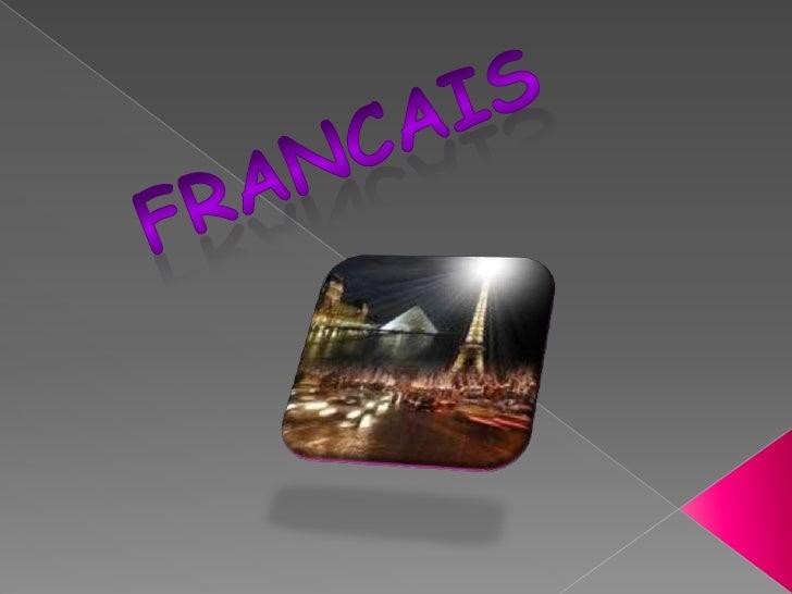francais<br />